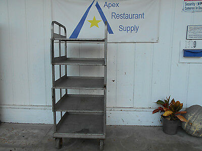 Commercial Stainless Rolling Utility Cart #1913