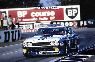 9x6 Photograph Fitzpatrick / Glemser / Heyer , Ford Capri RS ,Le Mans 24hrs 1973