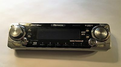 Pioneer  Premier DEH-P750MP CD MP3  FACEPLATE  Face plate , Tested Good Working