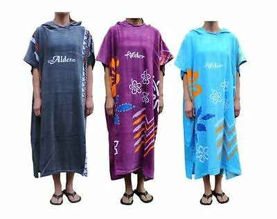 Bnwt Alder Adults Hooded Beach Or Swimming Changing Poncho Towel