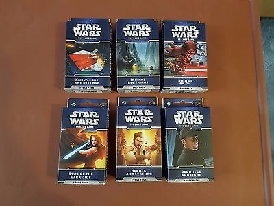 Star Wars LCG Living Card Game FFG Echoes of the Force Cycle Complete