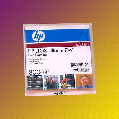 HP LTO 3, C7973A, 400/800 GB, Data Cartridge, Datenkassette, NEU & OVP