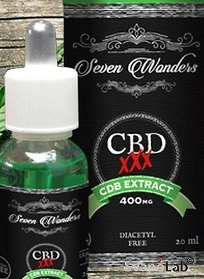 Liquido CBD SEVEN WONDERS by Vaporart 20ml