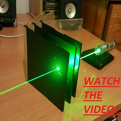 Super Powerful Green Laser Pointer Pen Focusable Burning Wicked 532nm 1mw Lazer
