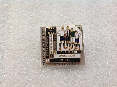 1894/95 Notts County F.C. Top Four Finishers Badge