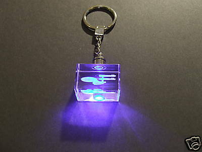 Star Trek Enterprise crystal Key chain