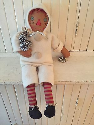 Tattered Rabbit Farms Winter Raggedy Ann