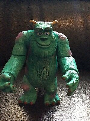 disney pixar MONSTERS INC SULLY action figure 6inch  TALKING