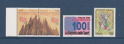 TIMBRES NEUFS ITALIE    Lot 120