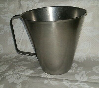 Rostfritt Stainless Steel 2 Pint Measuring Jug - Catering/Cafe/Serving