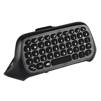 2.4G Receiver Mini Wireless Chatpad Message Keyboard Black for Xbox One AC670