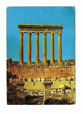 Liban - POSTALLY USED CARD  TO GERMANY  BAALABECK TEMPLE - LOT ( LEB 01)