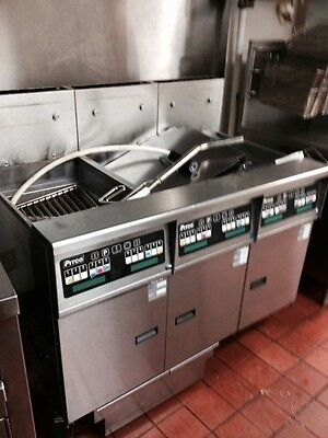 Pitco Fryer Automatic filter