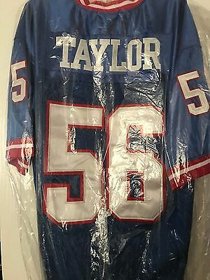 Lawrence Taylor New York Giants Mitchell And Ness Throwback Jersey Sz 56