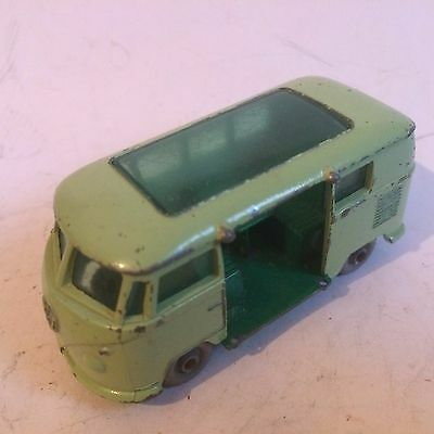 Volkswagen Caravette Original Vintage Old Lesney Matchbox Diecast Toy Car Wn