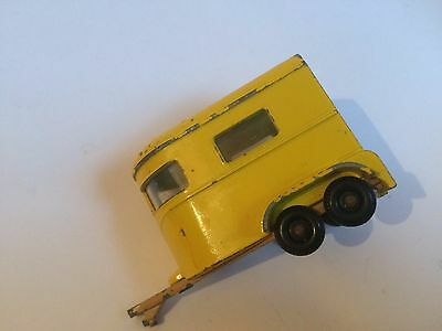 Pony Trailer Original Vintage Old Lesney Matchbox Diecast Toy Car Wn