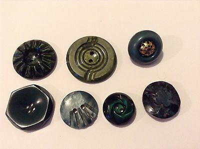 Mixed Lot Old/vintage Buttons. Casein. Assorted Sizes