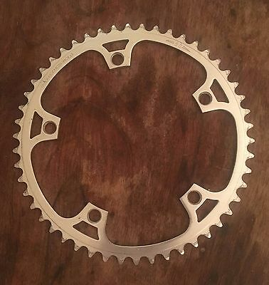 Campagnolo Super Record Pista Track 50t 1/8 Chainring 144 BCD  Good Condition