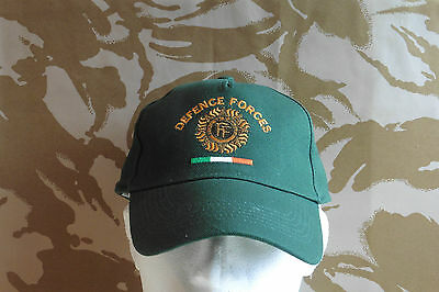 "Irish Defence Forces Baseball Cap ""Colour Green"" Irish Military New Cap With Tag"