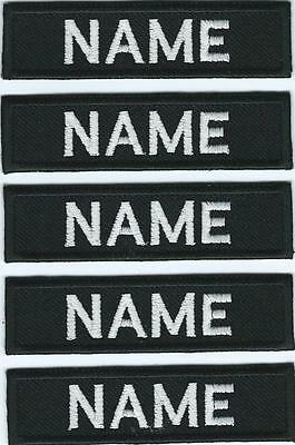 Irish Naval Service X 5 Name Strips Name Tags Tapes Irish Defence Forces Issue