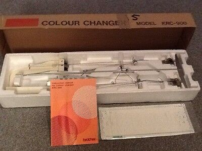 Brother KRC900 colour changer