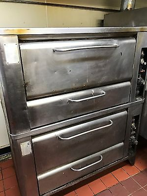 Pair Of Pizza Ovens-Blodgett  Double Natural Gas Pizza Oven, Plus Another!