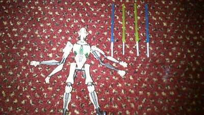 Star Wars General Grievous action figure Revenge of the Sith LOOSE