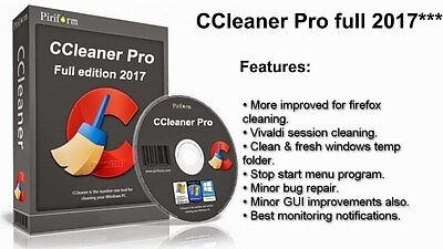 CCleaner Professional. Permanent use for all your computers.