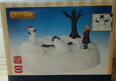 LEMAX Christmas Village Snowman Angel #54927 *NEW AND SEALED*