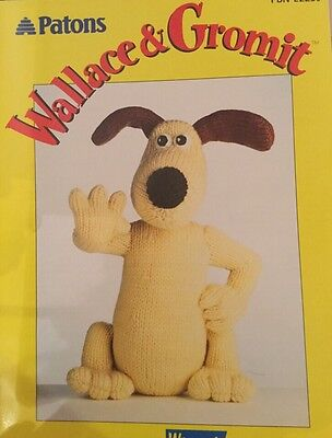 Patons Original Knitting Pattern, by Alan Dart, Gromit From Wallace And Gromit