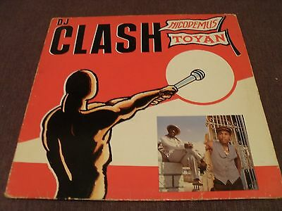 "Nicodemus vs. Toyan - The Clash - 12"" LP 1982 Greensleeves Records"