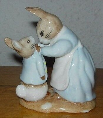 Beswick 'Mrs Rabbit and Peter' Figurine