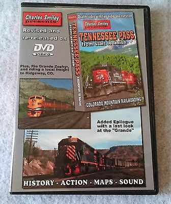Charles Smiley Catenary Video Tennessee Pass from start to finish DVD SP D&RGW