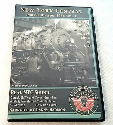 Herron Rail Video NYC New York Central Indiana Division 1956 Volume 1 DVD b