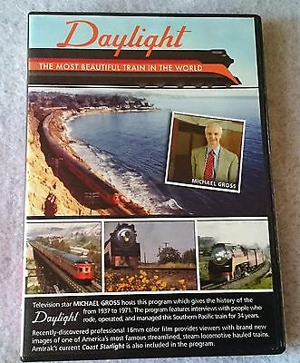 RK Publishing Daylight the most beautiful train in the world DVD SP 4-8-4 4449