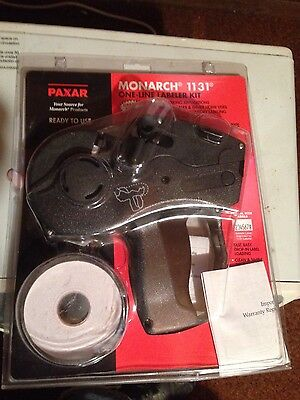 Monarch Paxar 1131 Label Pricing Gun One Line Price Labeling