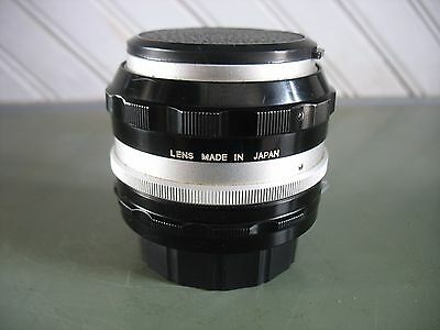 Vintage Nikon Nikkor 1:1.4 50mm Normal Camera Lens Japan