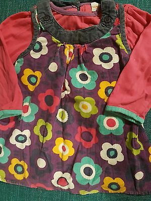 girls 6-9 month bluezoo tunic dress and top similar to boden and frugi