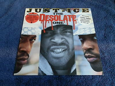 Just-Ice..the Desolate One..12 Inch Lp, Mint-..uk 1St Pressing..looks Unplayed