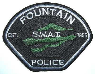 Fountain Swat Police Patch