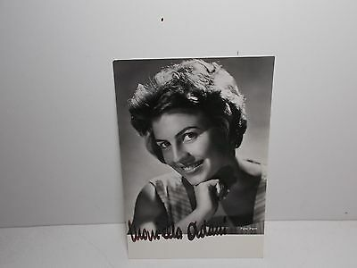 Authentic Signed  Photograph Mariella Adami Italian Opera Singer