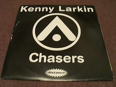 "Kenny LArkin/ Sean Deason - Chasers/ The Shit - 12"" EP 1995 Distance Records"