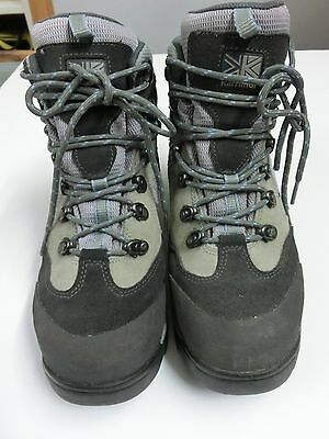 Karrimor UK 6 trekking leather mix hiking boots walking boots outdoor clarks
