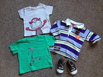 Bundle Baby Boys Clothes  Age 3-6 Months  Ex Cond