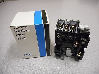 Fuji Electric Tr-0 Thermal Overload Relay 0.5A