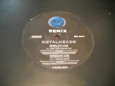 "Metalheads - Inner City Life - 12"" Promo 1995 FFRR Records"