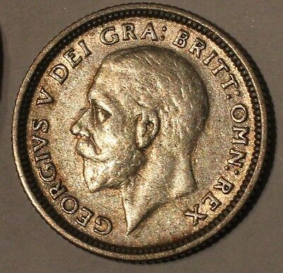 1926 George V Silver Sixpence - Great Britain. Collectible Grade