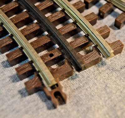2 New Atlas O #6044 0-27  Half Curve Track Sections - Nickel Silver 3 Rail