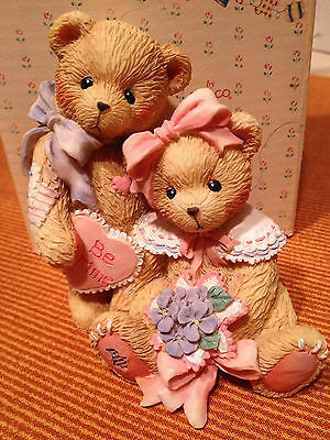 """OLIVER & OLIVIA ~ """"Will You Be Mine"""" 1993 RETIRED  Cherished Teddies"""
