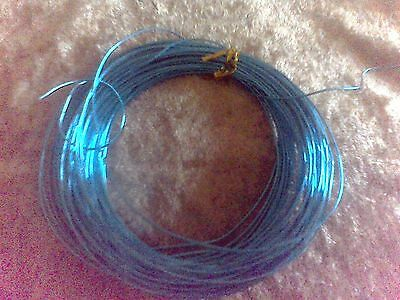 Large reel of Turqoise coloured 6mm wire ~ Jewellery making